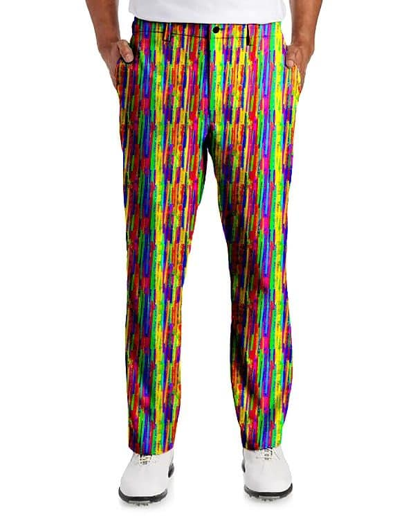 shop for genuine bottom price high quality materials Men's Crazy Golf Pants, Colorful Golf Pants, Wild Golf Pants ...